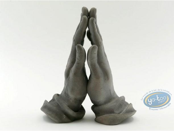 Statuette résine, Tableaux en 3D : Dürer - Mains Implorantes