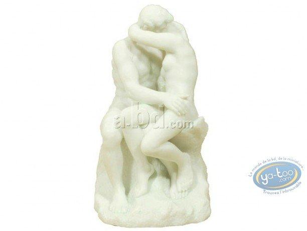 Statuette résine, Tableaux en 3D : Rodin - Le Baiser