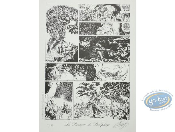 Affiche Offset, Hans : Planche 28