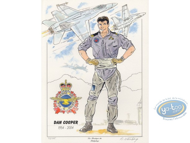 Affiche Offset, Dan Cooper : Dan Cooper 1954-2004