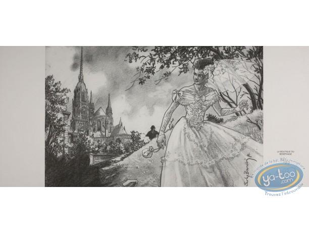 Jaquette, Mandrill : Mariée
