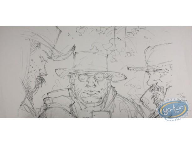Jaquette, Qui à Tué Wild Bill : Wild Bill (crayonné)