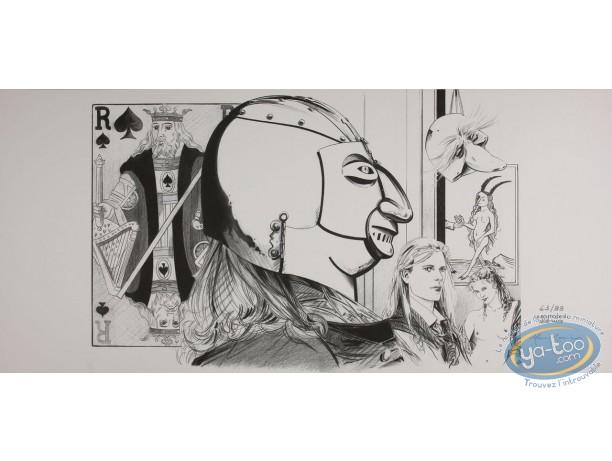 Jaquette, Masque de Fer (Le) : Marc-Renier, Le masque de fer