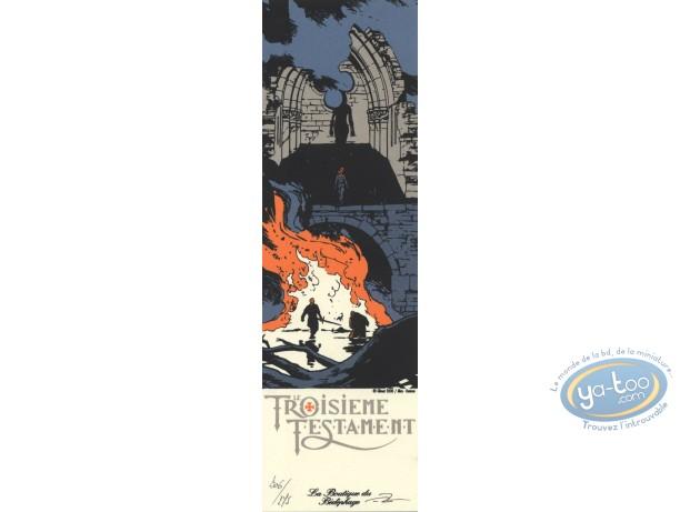 Ex-libris Sérigraphie, 3ème Testament (Le) : Ruines