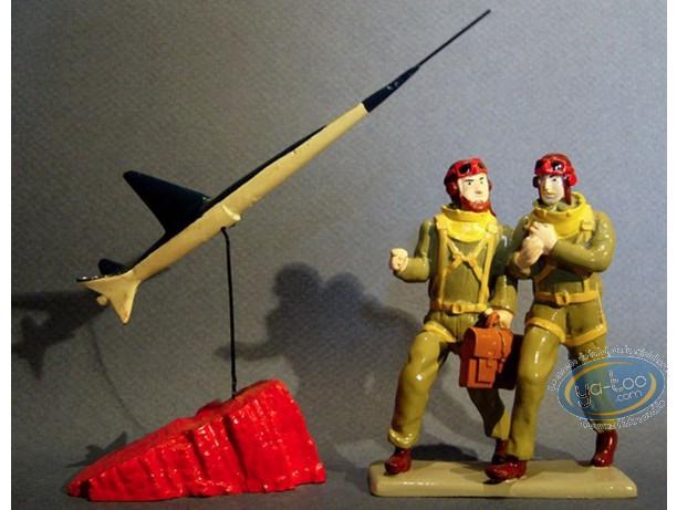Figurine métal, Blake et Mortimer : Blake, Mortimer et Espadon, Pixi
