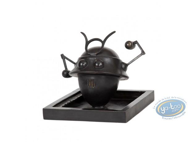Statuette bronze, Blake et Mortimer : Le robot Samouraï, Pixi