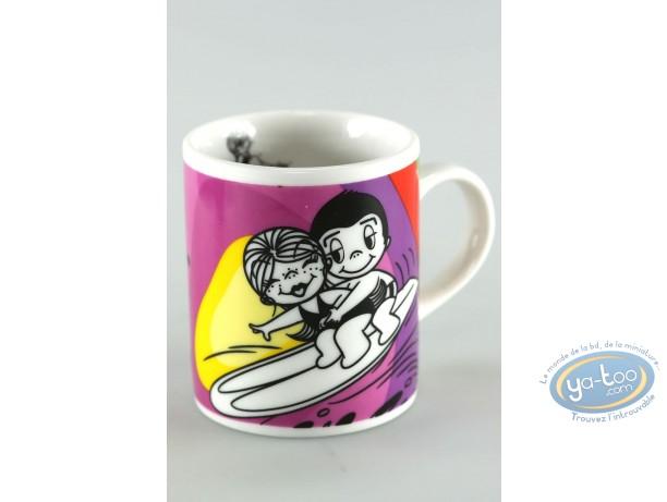 Art de la Table, Love is … : Mini mug, Love is... : Liebe ist ... auf der welle des glücks zu reiten