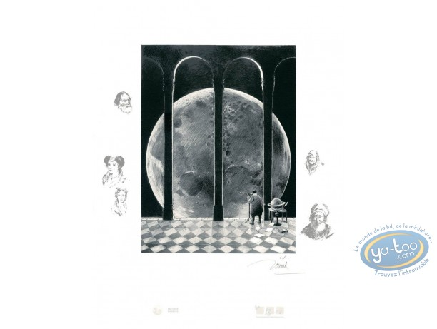 Affiche Sérigraphie, Galilée : Galilée