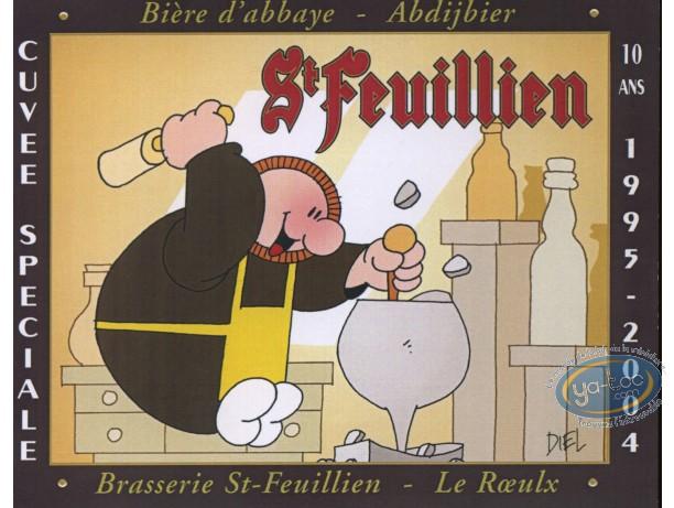 Etiquette de Vin, Sculpteur et bière