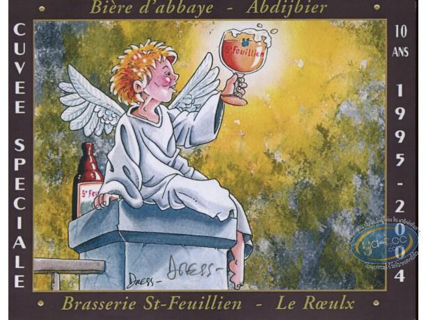 Etiquette de Vin, Ange et bière