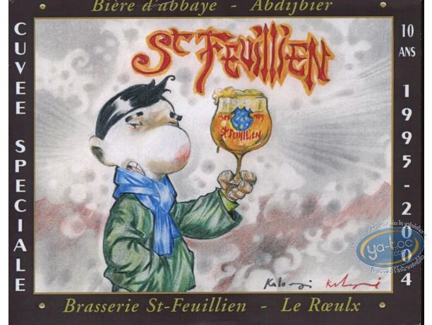 Etiquette de Vin, Homme et bière