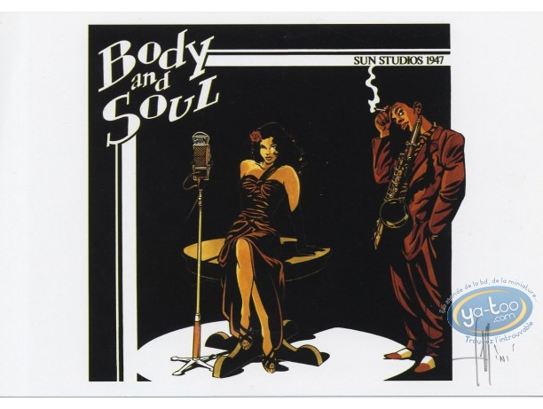 Ex-libris Offset, Tequila Deperados : Body and Soul