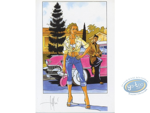 Ex-libris Offset, Tequila Deperados : Pink Cadillac