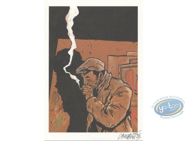 Ex-libris Offset, Purgatoire : Chabouté fumeur