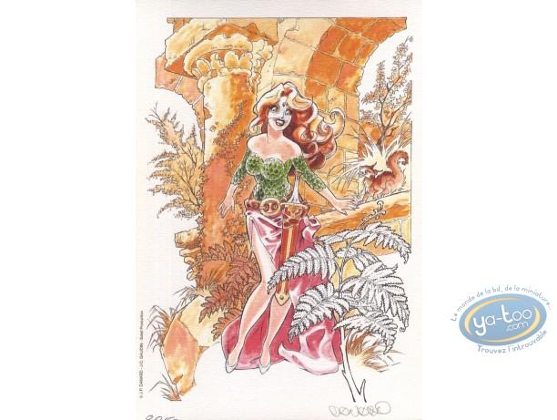Ex-libris Offset, Marlysa : Marlysa robe rouge