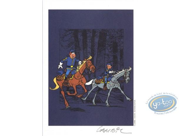 Ex-libris Offset, Tuniques Bleues (Les) : Dans les bois