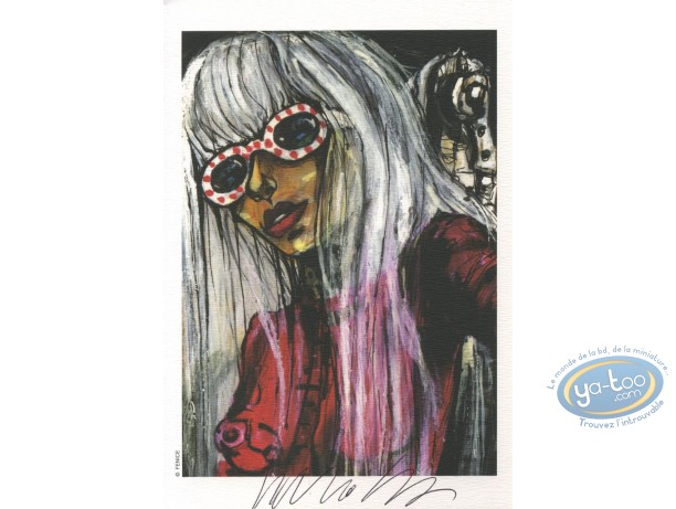 Ex-libris Offset, Fenice : Femme
