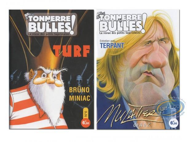 Monographie, Tonnerre de Bulles : Turf, Brüno, Miniac, Mulatier, Terpant