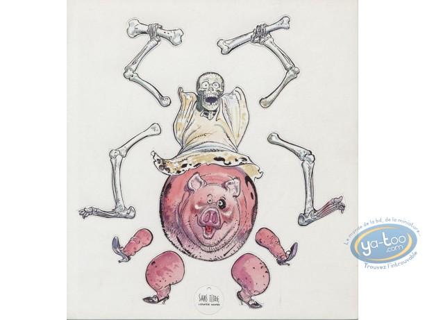 Ex-libris Offset, Jérome Moucherot : La Mort