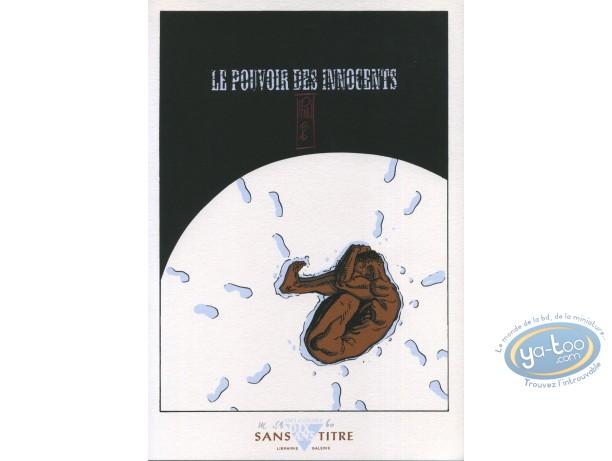 Ex-libris Sérigraphie, Pouvoir des Innocents (Le) : Nu dans la neige