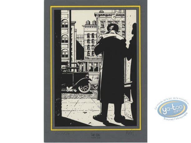 Ex-libris Sérigraphie, Hammett : Rue
