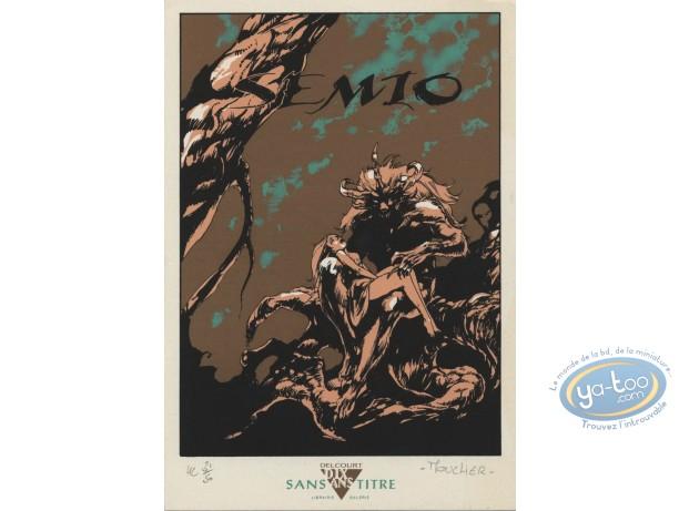 Ex-libris Sérigraphie, Semio : Mouclier, Semio