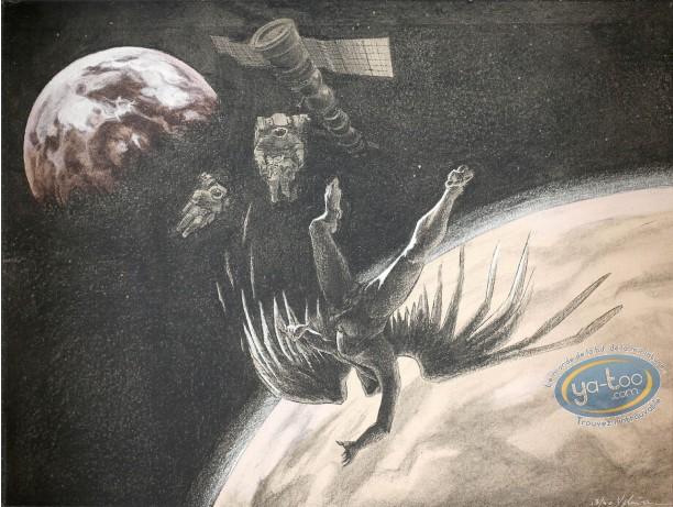 Affiche Sérigraphie, Xxème Ciel (Le) : Espace