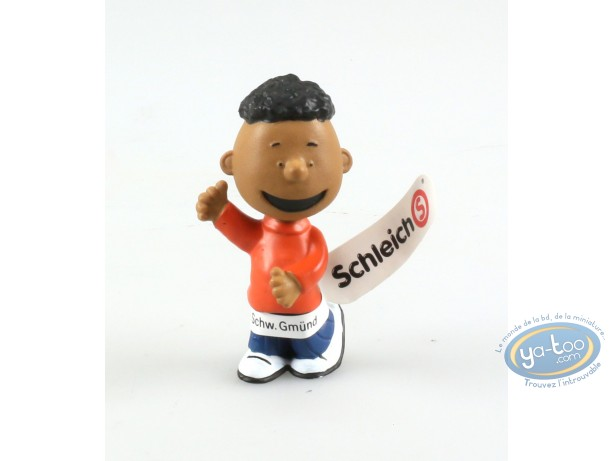 Figurine plastique, Snoopy : Franklin