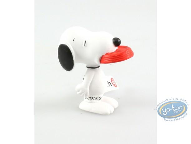 Figurine plastique, Snoopy : Snoopy et son bol