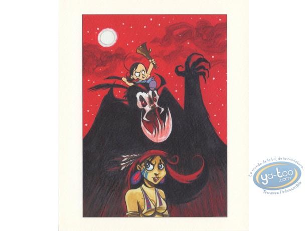 Ex-libris Offset, Luuna : Luuna, Marie Frisson et le vampire