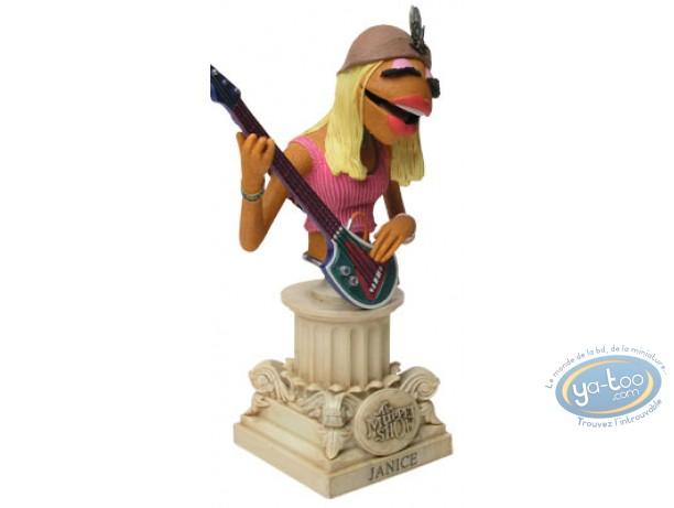 Statuette résine, Muppet Show (Le) : Janice
