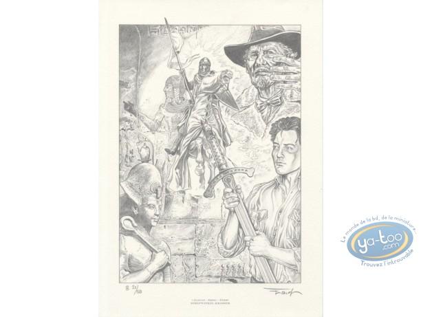 Affiche Offset, Gardien de la Lance (Le) : Ersel, Le gardien de la lance