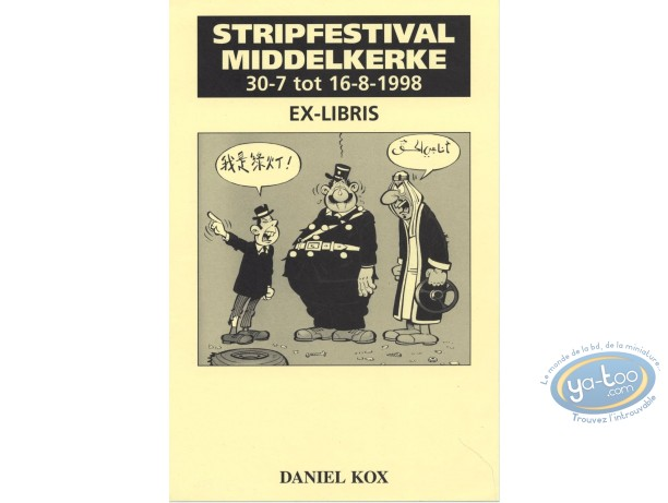 Ex-libris Offset, Agent 212 (L') : Middelkerke