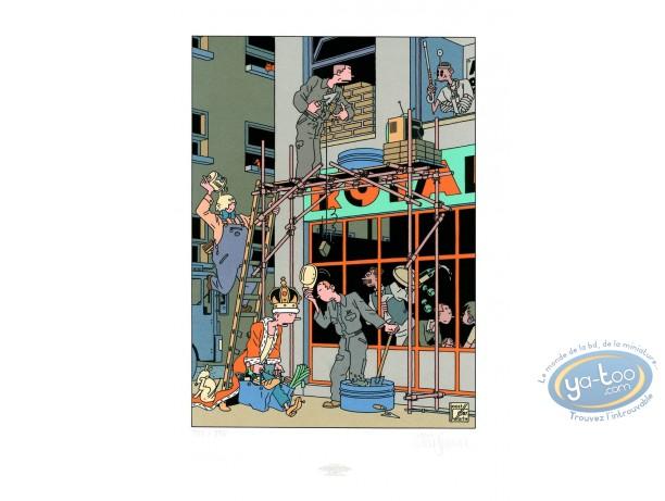 Affiche Sérigraphie, Café royal