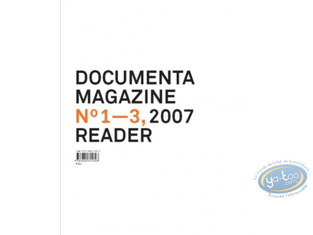 Livre, Documenta 12 magazine, n° 1-3