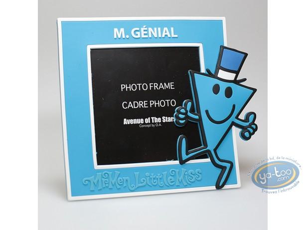 Cadre photo, Monsieur et Madame : Mr Genial Bleu