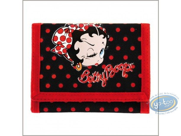 Bagagerie, Betty Boop : Portefeuille, Betty Boop (noir)