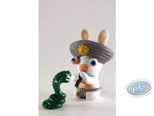 Figurine plastique, Lapins Crétins (Les) : Les Lapins Crétins autour du Monde :  Inde (flûte serpent)