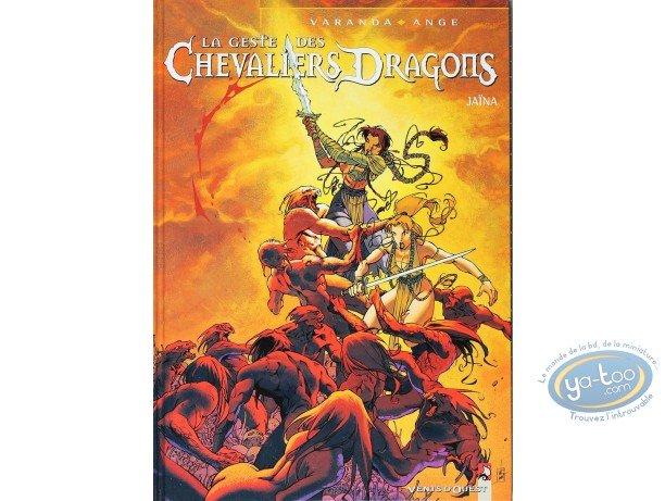 BD cotée, Geste des Chevaliers Dragons (La) : La geste des chevaliers dragons, Jaïna