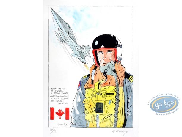 Aquarelle, Dan Cooper : Dan Cooper et Jet