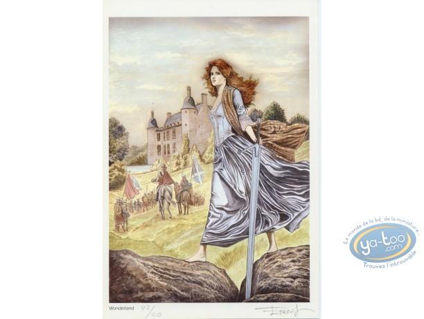 Ex-libris Offset, Claymore : Sur la route du château