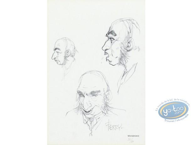 Ex-libris Offset, Chroniques de Panchrysia (Les) : Recherches de personnages