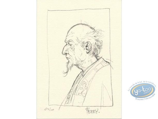 Ex-libris Offset, Chroniques de Panchrysia (Les) : Portrait crayonné