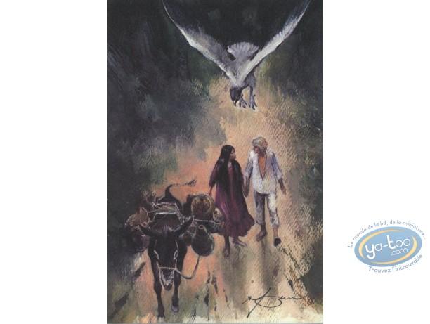 Ex-libris Offset, Shelena : Sur la route