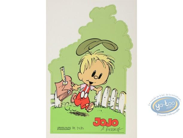 Ex-libris Sérigraphie, Jojo : Jojo