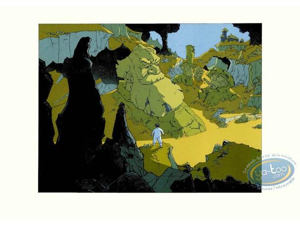 Affiche Sérigraphie, Little Nemo : Marchand, Little Nemo dans la montagne