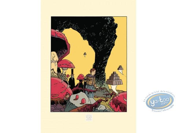 Affiche Sérigraphie, Little Nemo : Marchand, Little Nemo au pays des Ziggourats