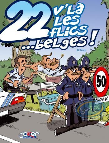 BD prix mini, 22 V'la les Flics : 22 V'là les flics... belges !