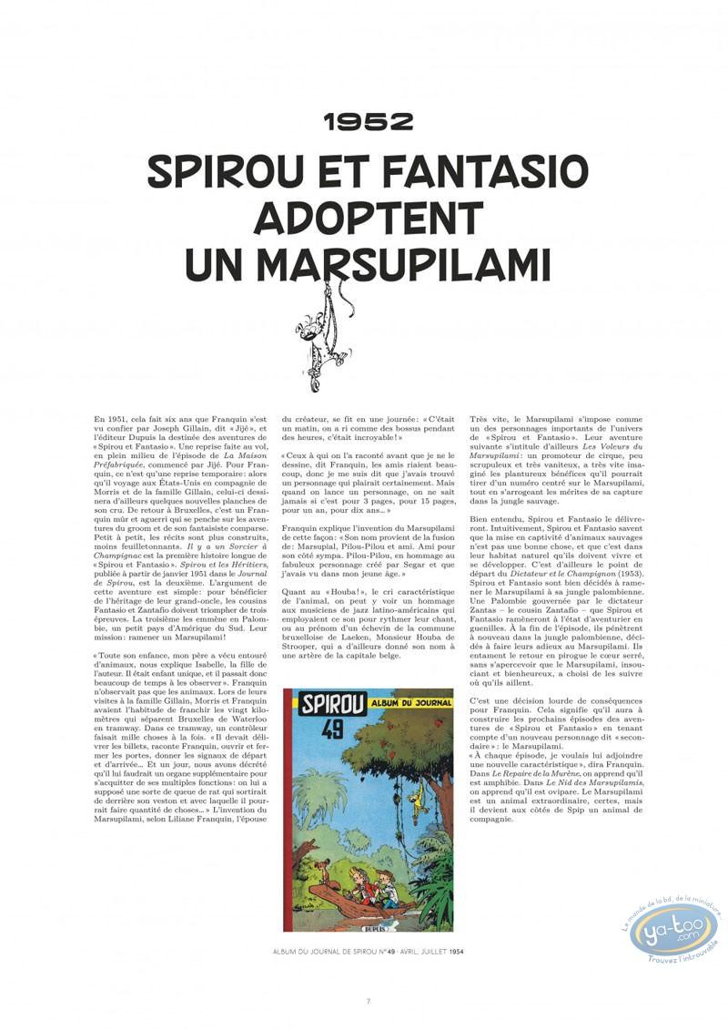 Album de Luxe, Marsupilami (Le) : Le Marsupilami de Franquin