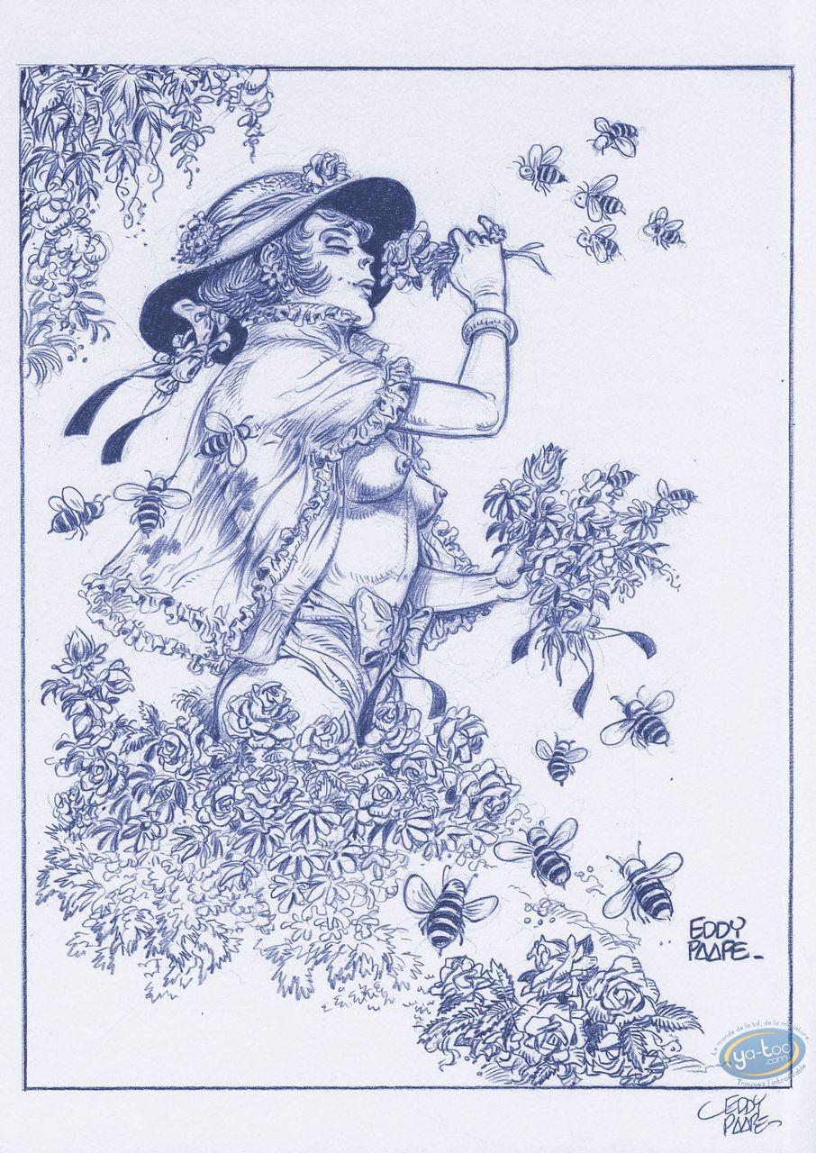 Affiche Offset, Luc Orient : Laura abeilles